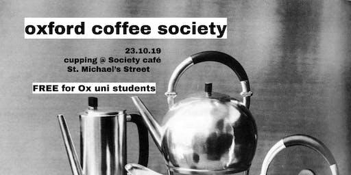 OU Coffee Soc Cupping // Wed 2nd Week
