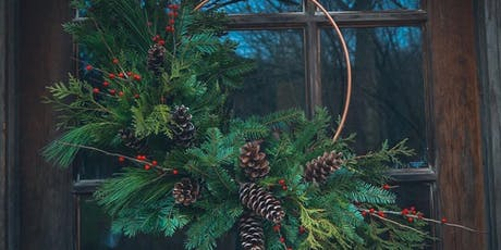 Copper Ring Wreath Workshop at Leigh's Garden Winery tickets