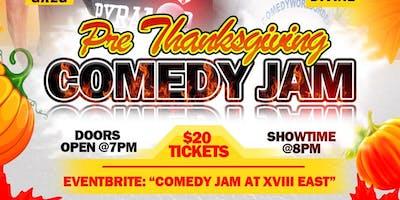 Comedy Jam at XVIII East