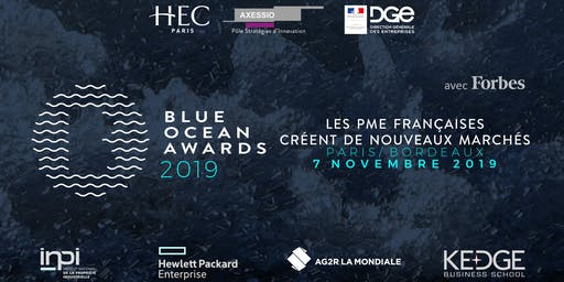 Blue Ocean Awards 2019 - Edition Nationale