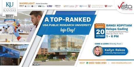 A Top-Ranked USA Public Research University Info Day - Jakarta tickets
