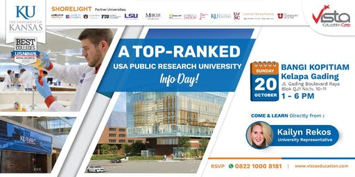 A Top-Ranked USA Public Research University Info Day - Jakarta