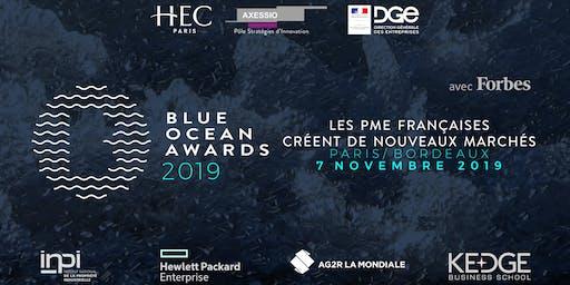 Blue Ocean Awards 2019 - Edition Aquitaine