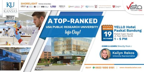 A Top-Ranked USA Public Research University Info Day Bandung tickets