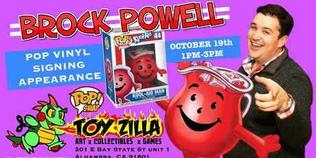 Official Funko POP SWAP at TOY-ZILLA #1 tickets