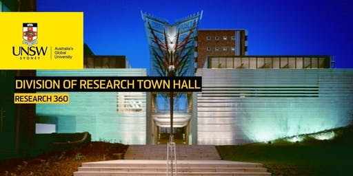 Division of Research Town Hall - Research 360