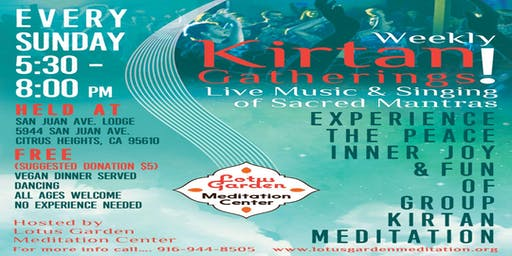 Kirtan Live Music and Singing