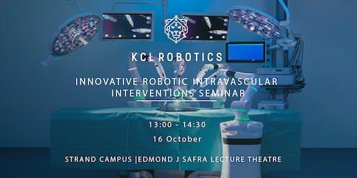 Innovative Robotic Intravascular Interventions