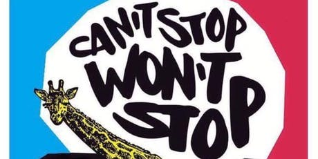 CAN'T STOP WON'T STOP tickets