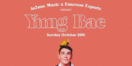 Yung Bae X Emerson College Esports tickets