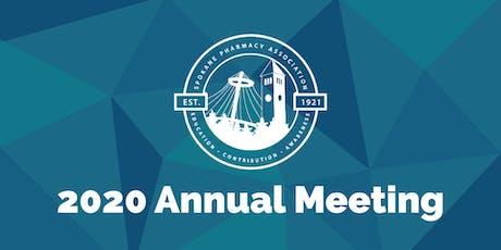 Spokane Pharmacy Association 2020 Annual Meeting tickets