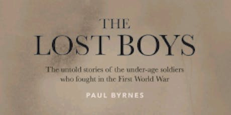 The Lost Boys-An Evening With Author Paul Byrnes tickets