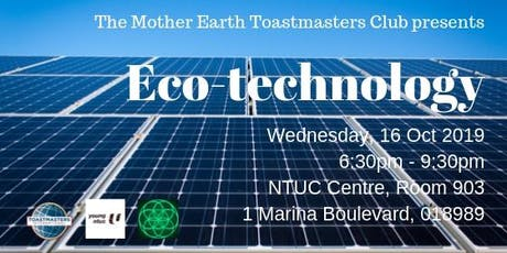 Eco-Technology tickets