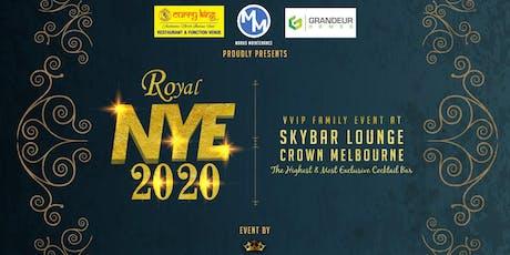 Royal NYE 2020 tickets