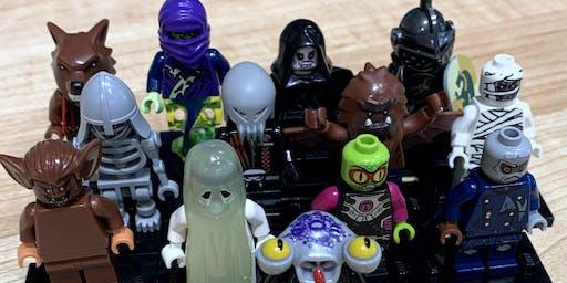 LEGO® Minifigure Halloween Scavenger Hunt