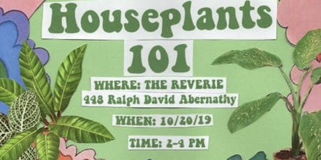 Houseplant 101 with Eargardn tickets