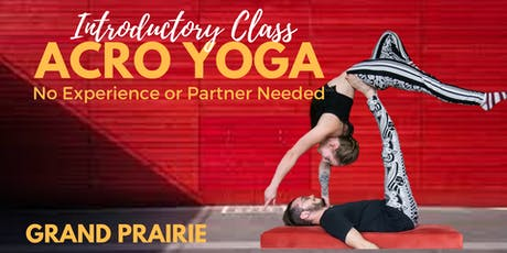 Intro to Acro Yoga- Grand Prairie tickets