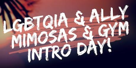 LGBTQIA & Ally Gym & Mimosas Day! tickets