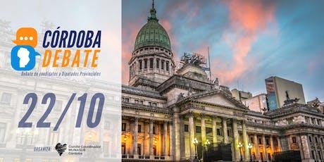 Córdoba Debate | La juventud pregunta entradas