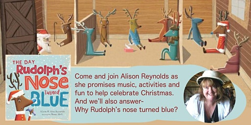 The Day Rudolph's Nose Turned Blue with Alison Reynolds