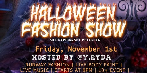 ArtInspiresArt Halloween Fashion Show