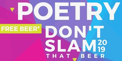 Poetry (Don't) Slam - November Open Mic
