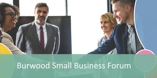 Burwood Small Business Forum