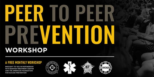 October PEERvention Workshop: In honor of National First Responders Day