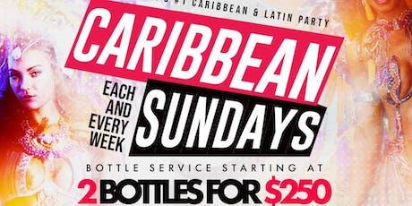 Caribbean Sundays tickets