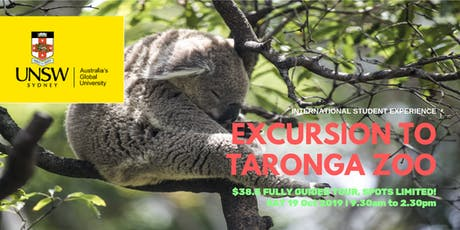 ISEU Taronga Zoo Excursion tickets