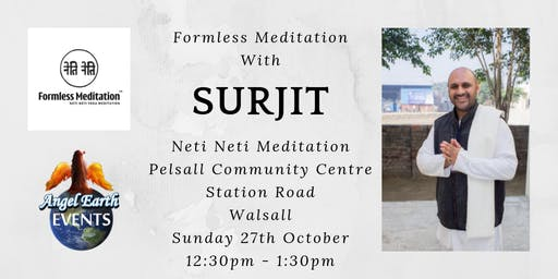 Formless Meditation with Sujit from Neti Neti Meditation