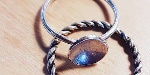 TASTER WORKSHOP - Silver Stack Rings
