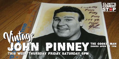 John Pinney The Cookie Man tickets