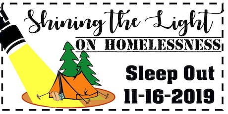 Shining the Light on Homelessness Sleep Out tickets