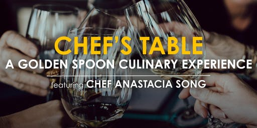Chef's Table: A Private & Intimate Culinary Experience!