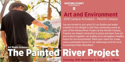The Painted River Project at Penrith Campus