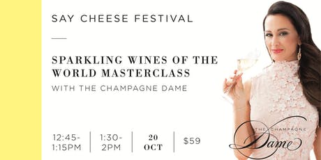 Say Cheese Festival - Champagne Masterclasses tickets