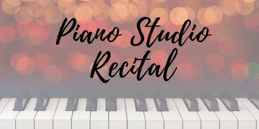 Piano Studio Recital
