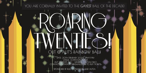 Roaring 20's - Out@AUT's rainbow ball! [CANCELLED]