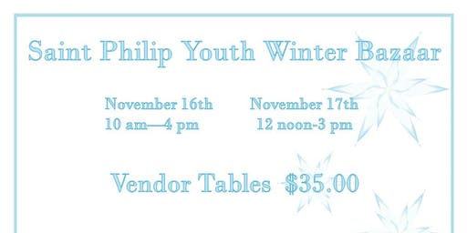 St. Philip Youth Bazaar and Craft Fair