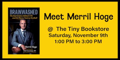 Merril Hoge Author Signing tickets