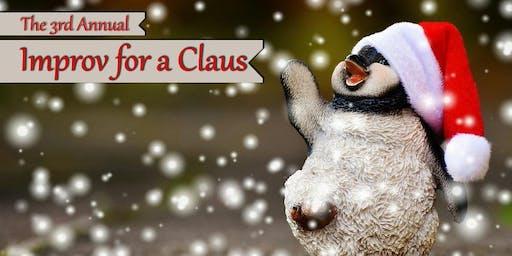Improv for a Claus at Bas Bleu!
