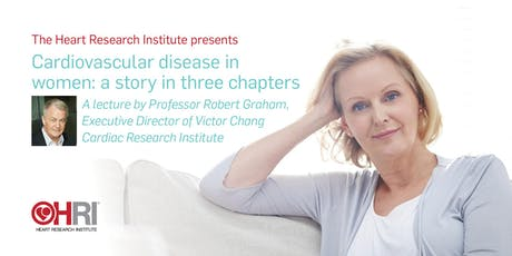 Cardiovascular disease in women: a story in three chapters tickets