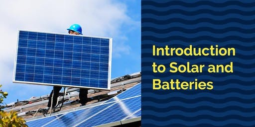 Solar power and batteries for your house