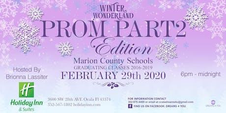 Prom Part 2 Edition In Winter Wonderland tickets