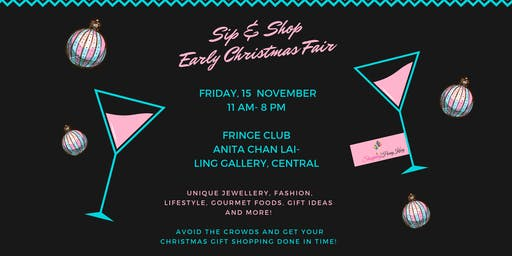 Sip and Shop Early Christmas Gift Fair