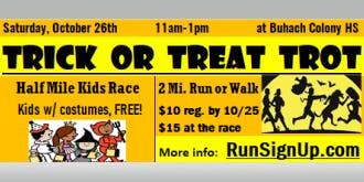 Buhach Colony High School's Cross Country Trick or Treat Trot