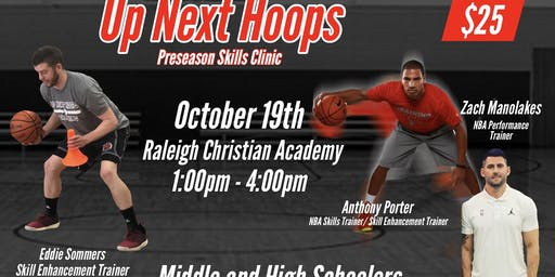 Up Next Hoops: Preseason Skills Clinic