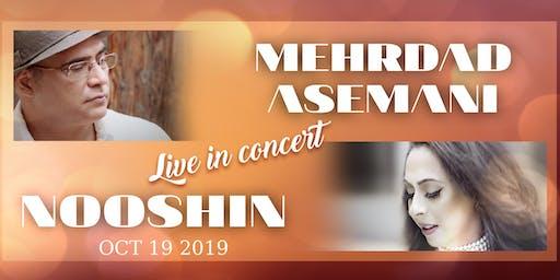Mehrdad Asemani and Nooshin live in Concert
