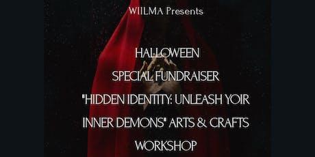 Halloween: Unleash your inner demons - Arts & Crafts Workshop tickets